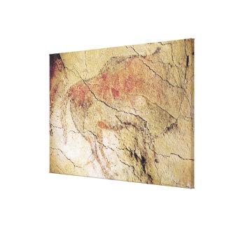 Bison des cavernes chez Altamira, c.15000 AVANT JÉ Toiles