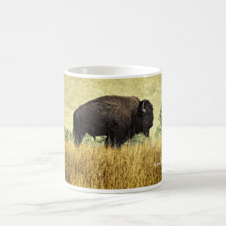 Bison du Montana Mug