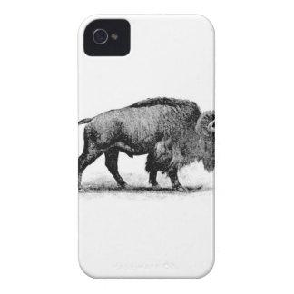 bison solitaire coque iPhone 4 Case-Mate