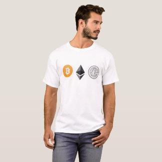Bitcoin, Ethereum, T-shirt de Litecoin