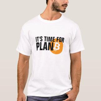 Bitcoin. Il est temps pour le PLAN B T-shirt