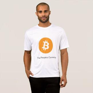 Bitcoin le T-shirt de la devise des personnes