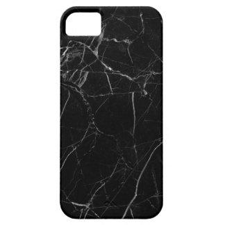 Black Marble Texture Coque iPhone 5 Case-Mate