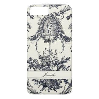 _Black personnalisable d'ange antique Coque iPhone 7 Plus