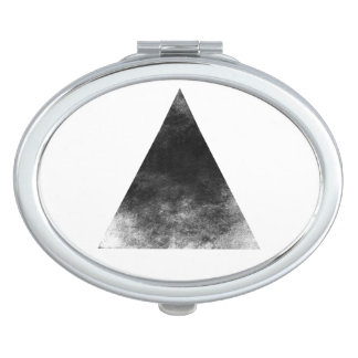 Black Triangle Miroir De Voyage