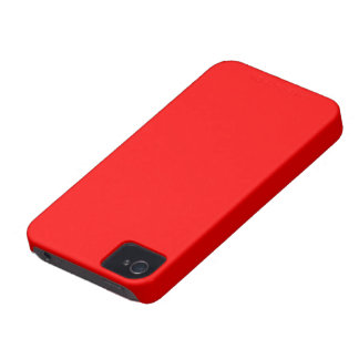 Blackberry Bold couleur rouge Coques iPhone 4