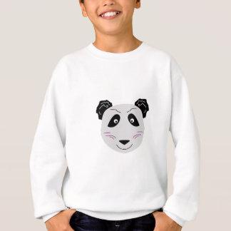 Blackgrey mignon de petit panda sweatshirt