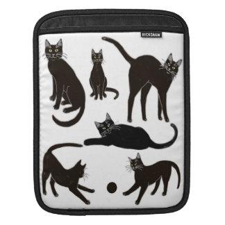 Blackie la douille de Rickshaw de chat noir Poches iPad