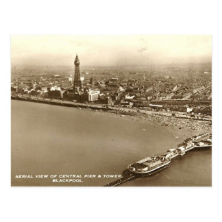 Blackpool de l'air carte postale