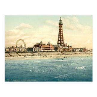 Blackpool II, Lancashire, Angleterre Carte Postale
