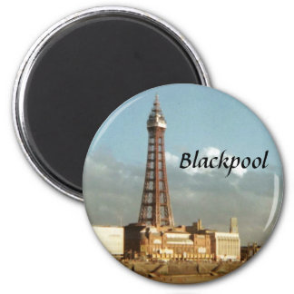 Blackpool Magnet Rond 8 Cm