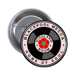 Blackpool Mecque - à la maison de l'âme Badge