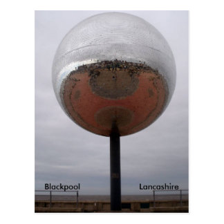 Blackpool Mirrorball Carte Postale