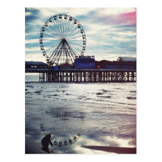 Blackpool (Royaume-Uni) Carte Postale
