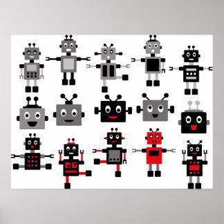 BlackRobot1 Affiches