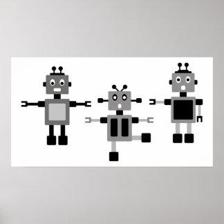 BlackRobot5 Posters