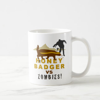 blaireau de miel contre des zombis mug