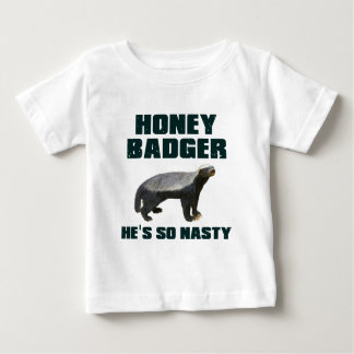 Blaireau de miel il est si méchant t-shirt pour bébé
