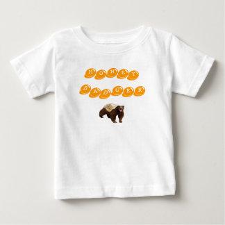 Blaireau de miel t-shirt pour bébé