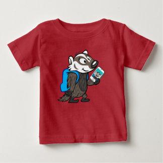 Blaireau Selfie de boomer du raton laveur | de T-shirt Pour Bébé