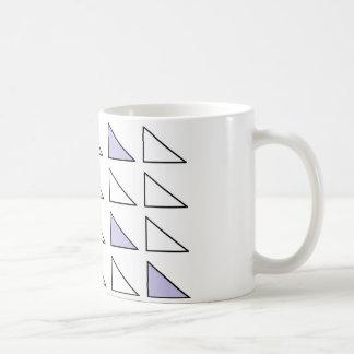 Blanc art classique de tasse de 11 onces par