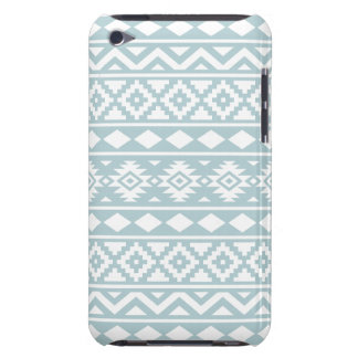 Blanc aztèque de Ptn III d'essence sur le bleu Étui iPod Touch