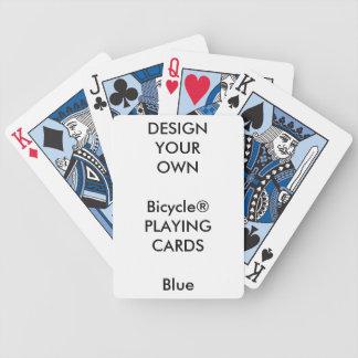 Blanc BLEU de cartes de jeu de Bicycle® Jeu De Poker