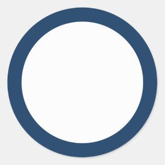cadre blanc bleu autocollants stickers cadre blanc bleu. Black Bedroom Furniture Sets. Home Design Ideas