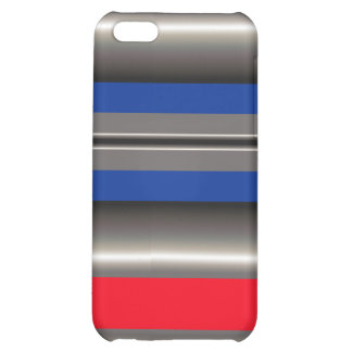 Blanc bleu rouge coque iPhone 5C