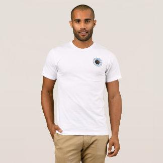 Blanc de base du T-shirt des hommes de marais