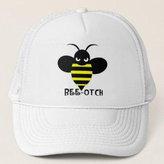 Blanc de casquette d'Abeille-otch