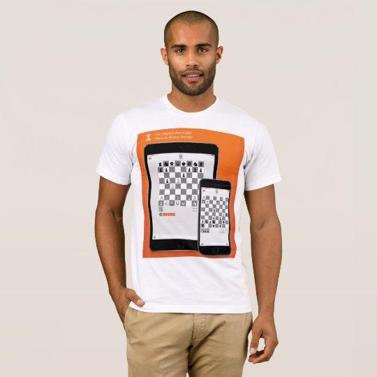 Blanc de ChessME T-shirt