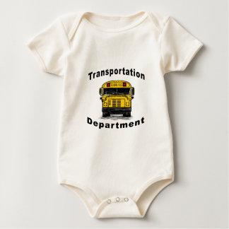 Blanc de département de transport body