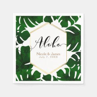 Feuille vert serviettes en papier feuille vert serviettes jetables - Serviette en papier vert fonce ...