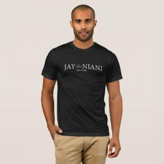 Blanc de logo de Niani de geai T-shirt
