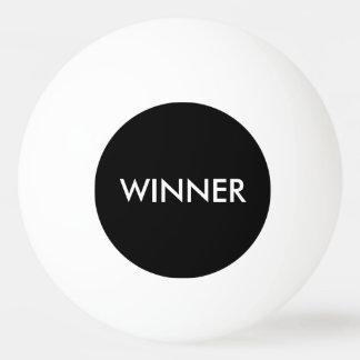 Blanc de noir de ping-pong de ping-pong de perdant balle tennis de table