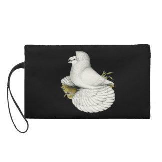 Blanc de pigeon de trompettiste pochette avec dragonne