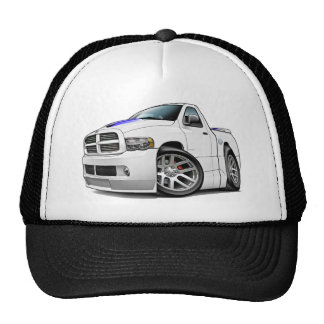 Blanc de RAM de Dodge SRT10 Casquettes De Camionneur