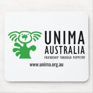 BLANC de tapis de souris d'UNIMA Australie