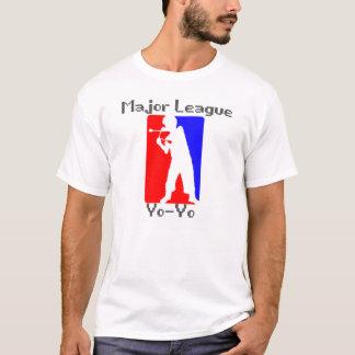 Blanc de yo-yo de ligue t-shirt