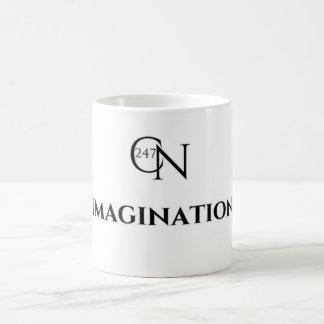 Blanc d'imagination de Café Novela tasse de