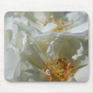 Blanc doux tapis de souris