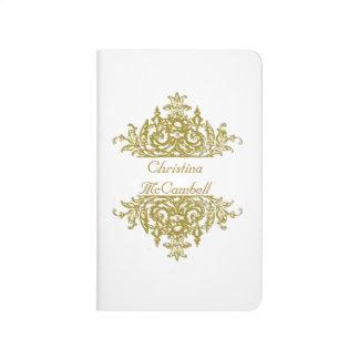 Blanc et journal du baroque d'or