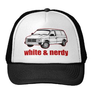blanc et ringard casquette de camionneur
