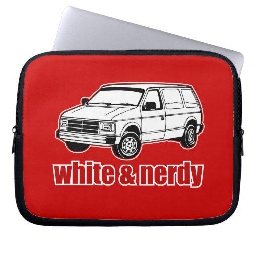 blanc et ringard housses ordinateur portable