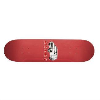 blanc et ringard plateaux de skate