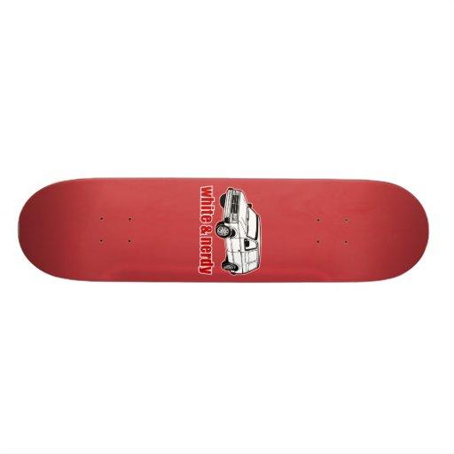 blanc et ringard skateboards personnalisés