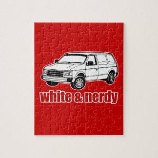 blanc et ringard puzzle avec photo