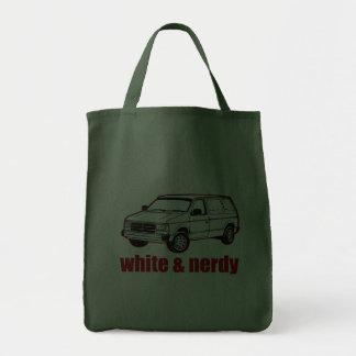 blanc et ringard sacs en toile