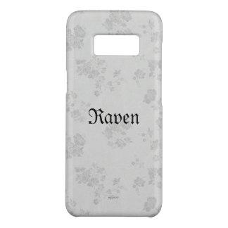 Blanc éternel gothique de Name* de *Your Coque Case-Mate Samsung Galaxy S8